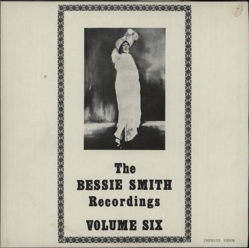 "Bessie Smith The Bessie Smith Recordings Volume Six 10"" vinyl single (10"" record) UK BEH10TH669929"