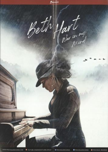 Beth Hart War In My Mind - Blue - Complete - Sealed 2-LP vinyl record set (Double Album) US 0G12LWA741851