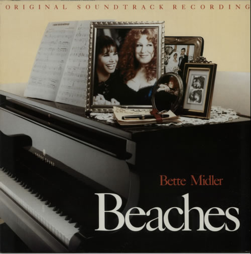 Bette Midler Beaches - Original Soundtrack Recording vinyl LP album (LP record) German BMILPBE585801