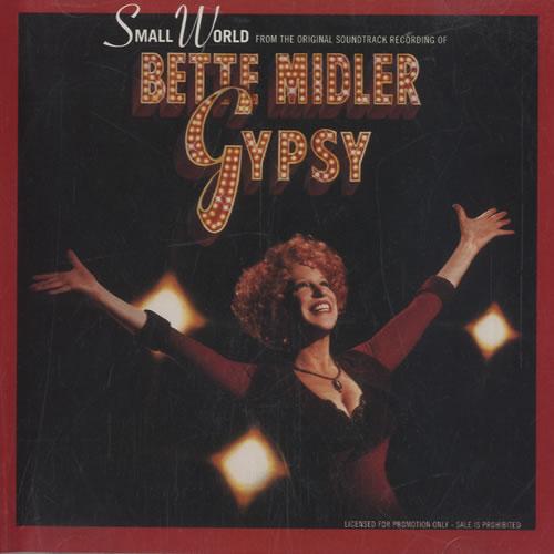 """Bette Midler Small World CD single (CD5 / 5"""") US BMIC5SM464122"""