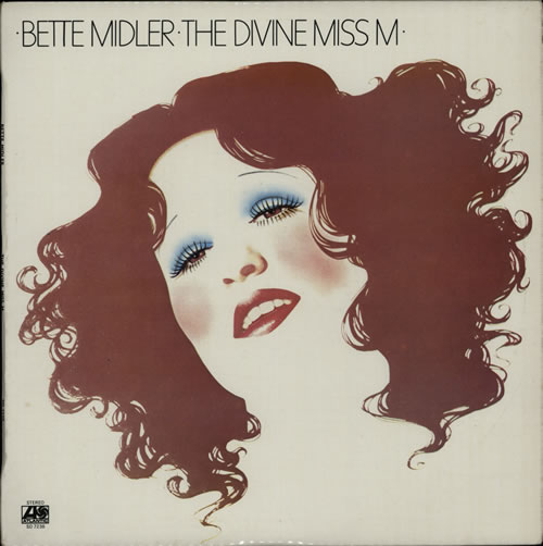 Bette Midler The Divine Miss M vinyl LP album (LP record) New Zealand BMILPTH640001
