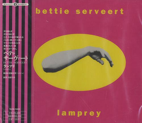 Bettie Serveert Lamprey CD album (CDLP) Japanese BSVCDLA470724