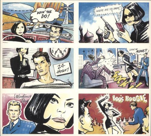 Betty Boo Boomania + Postcard Set vinyl LP album (LP record) UK BOOLPBO455290