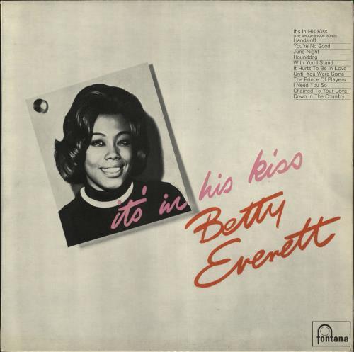 Betty Everett It's In His Kiss vinyl LP album (LP record) UK 1BELPIT734579