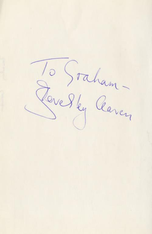Beverley Craven Autographed Sheet memorabilia UK BCRMMAU545753