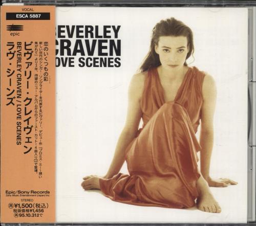 "Beverley Craven Love Scenes CD single (CD5 / 5"") Japanese BCRC5LO718760"