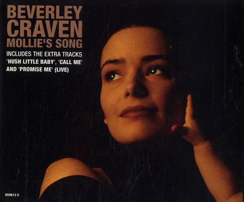 "Beverley Craven Mollie's Song CD single (CD5 / 5"") UK BCRC5MO96285"