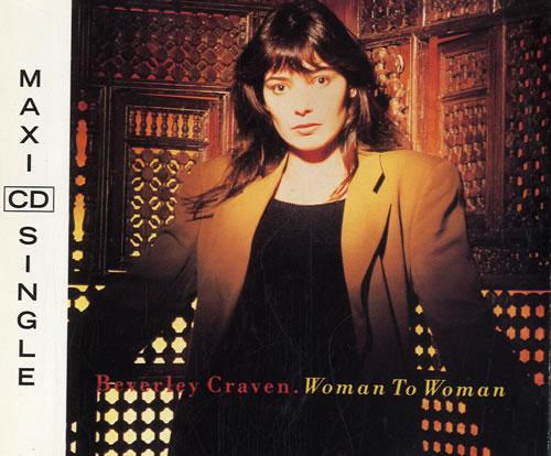 "Beverley Craven Woman To Woman CD single (CD5 / 5"") Austrian BCRC5WO197694"