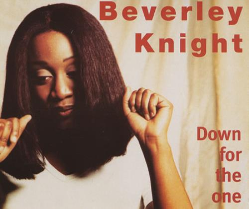 "Beverley Knight Down For The One CD single (CD5 / 5"") UK BKIC5DO383403"