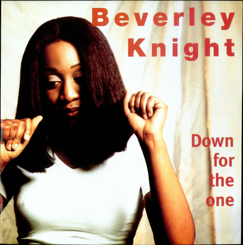 """Beverley Knight Down For The One 12"""" vinyl single (12 inch record / Maxi-single) UK BKI12DO500185"""