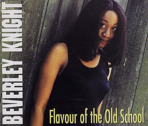 """Beverley Knight Flavour Of The Old School CD single (CD5 / 5"""") UK BKIC5FL382368"""