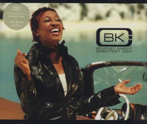 "Beverley Knight Greatest Day CD single (CD5 / 5"") UK BKIC5GR390546"
