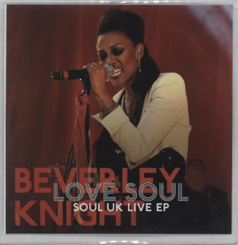 Beverley Knight Love Soul: Soul UK Live EP CD-R acetate UK BKICRLO670778