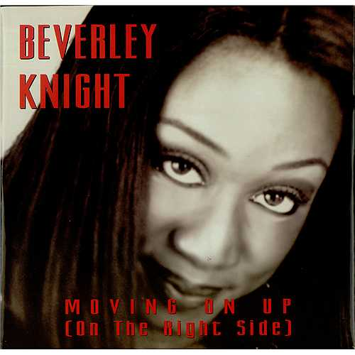 """Beverley Knight Movin On Up (On The Right Side) 12"""" vinyl single (12 inch record / Maxi-single) UK BKI12MO408180"""