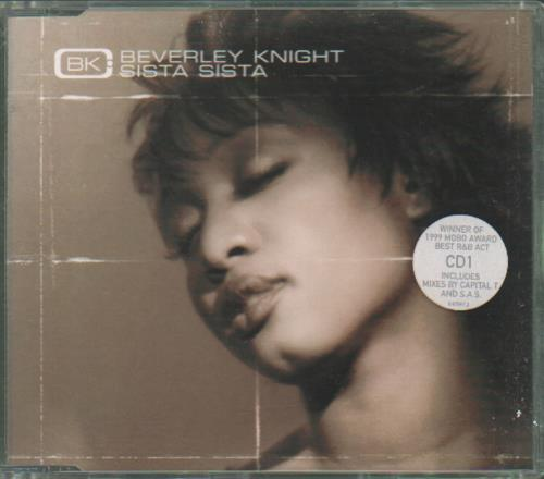 "Beverley Knight Sista Sista - CD1 CD single (CD5 / 5"") UK BKIC5SI680238"