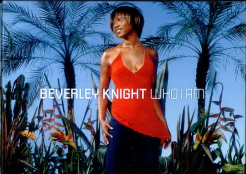 Beverley Knight Who I Am - Promo Pack CD album (CDLP) UK BKICDWH508310