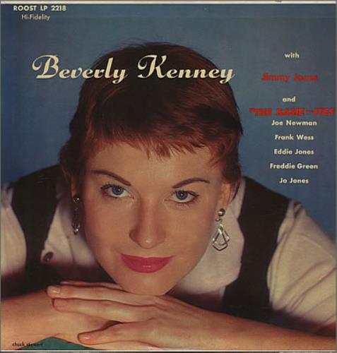 Beverly Kenney Beverly Kenney Sings With Jimmy Jones And The Basie-ites vinyl LP album (LP record) US BK0LPBE377742