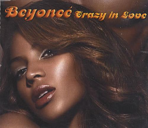 "Beyoncé Knowles Crazy In Love CD single (CD5 / 5"") Brazilian BYKC5CR285812"