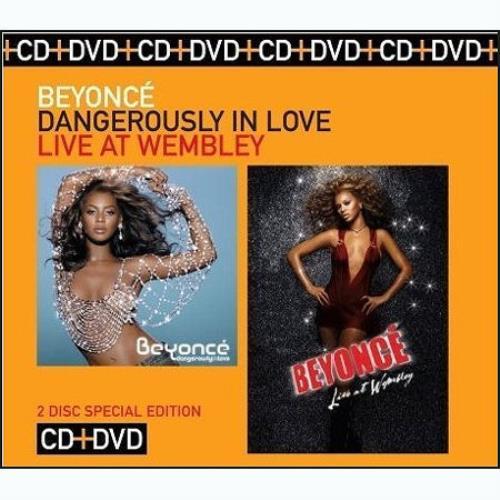 Beyoncé Knowles Dangerously In Love / Live At Wembley 2-disc CD/DVD set Australian BYK2DDA456025