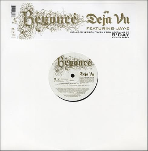 "Beyoncé Knowles Deja Vu 12"" vinyl single (12 inch record / Maxi-single) UK BYK12DE368542"