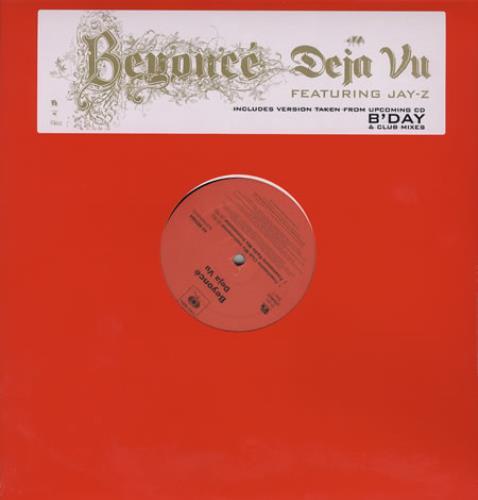 "Beyoncé Knowles Deja Vu 12"" vinyl single (12 inch record / Maxi-single) US BYK12DE380567"