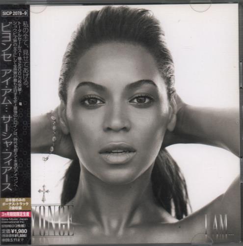 Beyoncé Knowles I Am...Sasha Fierce 2 CD album set (Double CD) Japanese BYK2CIA457817