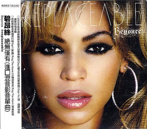 "Beyoncé Knowles Irreplaceable CD single (CD5 / 5"") Taiwanese BYKC5IR389443"