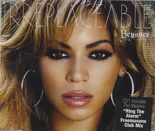 """Beyoncé Knowles Irreplaceable CD single (CD5 / 5"""") UK BYKC5IR492142"""