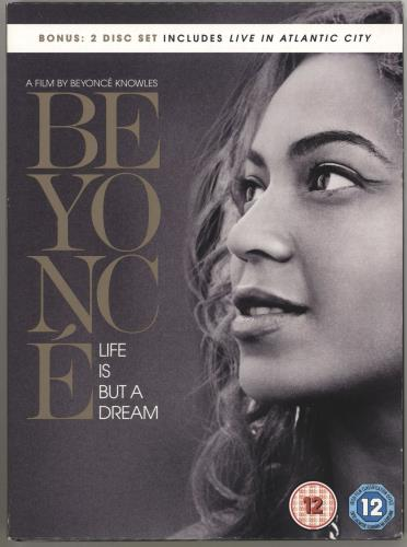 Beyoncé Knowles Life Is But A Dream / Live In Atlantic City DVD UK BYKDDLI707695