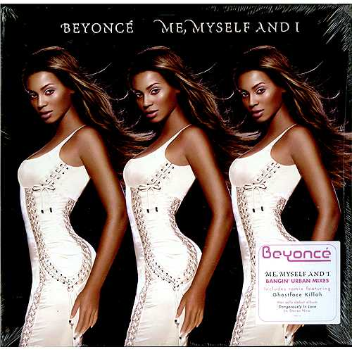 "Beyoncé Knowles Me, Myself And I - Sealed 12"" vinyl single (12 inch record / Maxi-single) US BYK12ME410589"