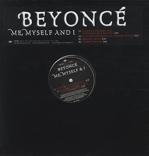 Beyonce Knowles Me Myself And I Uk Promo 12 Vinyl Single 12