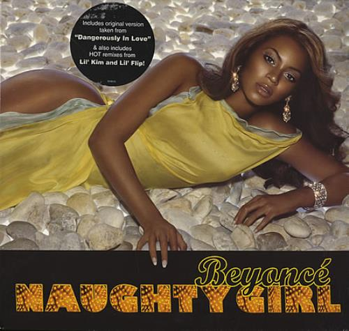 "Beyoncé Knowles Naughty Girl 12"" vinyl single (12 inch record / Maxi-single) US BYK12NA367838"