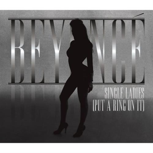"Beyoncé Knowles Single Ladies [Put A Ring On It] CD single (CD5 / 5"") UK BYKC5SI459975"