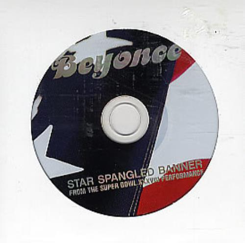 "Beyoncé Knowles Star Spangled Banner CD single (CD5 / 5"") US BYKC5ST288148"