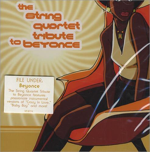 Beyoncé Knowles The String Quartet Tribute To Beyonce CD album (CDLP) US BYKCDTH279898