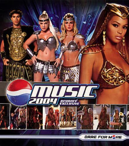 "Beyoncé Knowles We Will Rock You - Pepsi Gladiators Remix CD single (CD5 / 5"") US BYKC5WE315767"