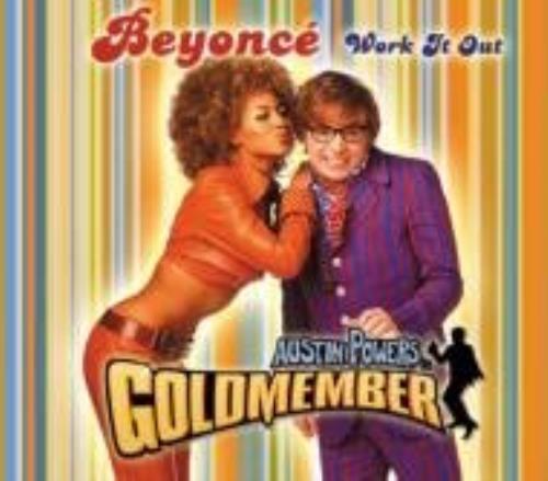 """Beyoncé Knowles Work It Out CD single (CD5 / 5"""") Japanese BYKC5WO214982"""