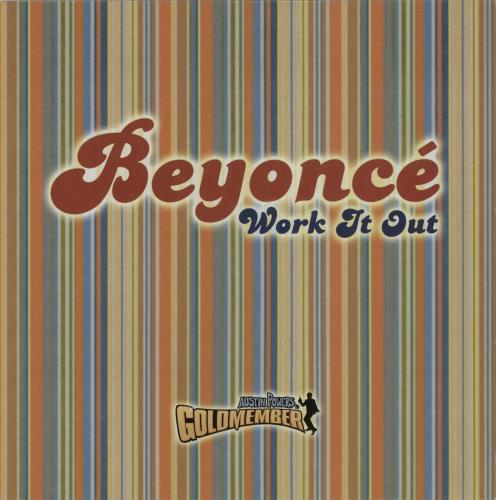 """Beyoncé Knowles Work It Out 12"""" vinyl single (12 inch record / Maxi-single) UK BYK12WO217819"""
