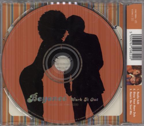 """Beyoncé Knowles Work It Out CD single (CD5 / 5"""") UK BYKC5WO218265"""
