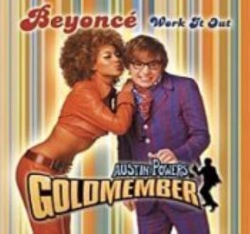 """Beyoncé Knowles Work It Out CD single (CD5 / 5"""") Australian BYKC5WO218268"""