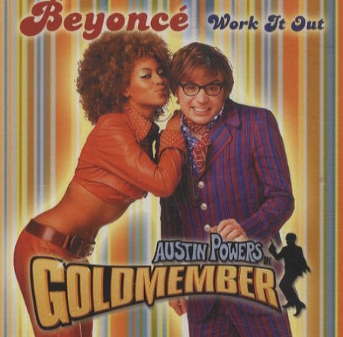 """Beyoncé Knowles Work It Out CD single (CD5 / 5"""") US BYKC5WO219999"""