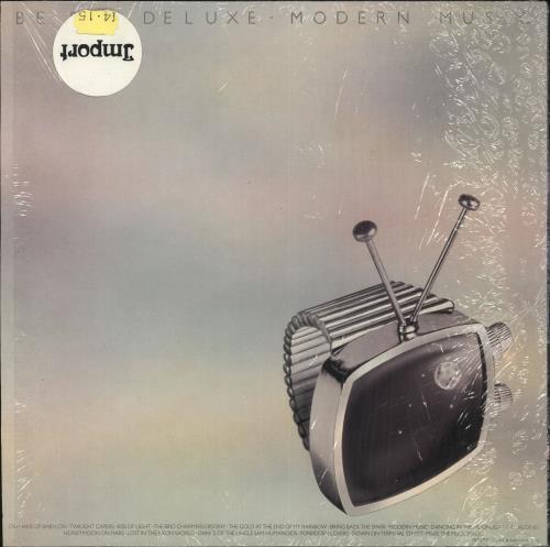 Be Bop Deluxe Modern Music - shrink vinyl LP album (LP record) UK BEPLPMO725505