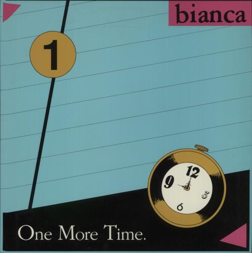 """Bianca One More Time 12"""" vinyl single (12 inch record / Maxi-single) US F0E12ON687177"""