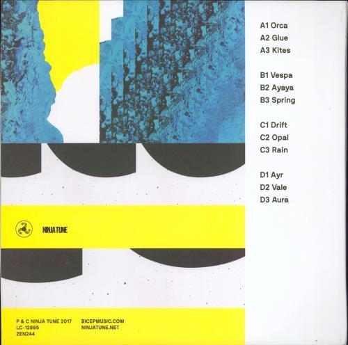 Bicep Bicep 2-LP vinyl record set (Double Album) UK 3QX2LBI771215