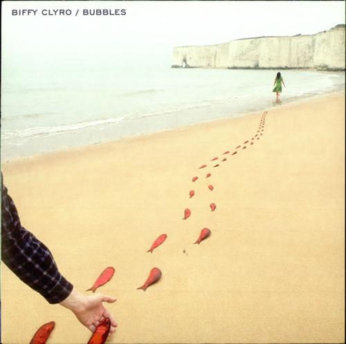 "Biffy Clyro Bubbles 7"" vinyl single (7 inch record) UK B.Y07BU505884"