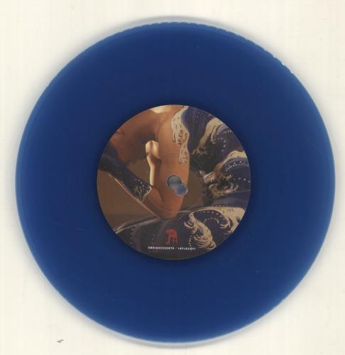 "Biffy Clyro Folding Stars - Blue Vinyl 7"" vinyl single (7 inch record) UK B.Y07FO407073"
