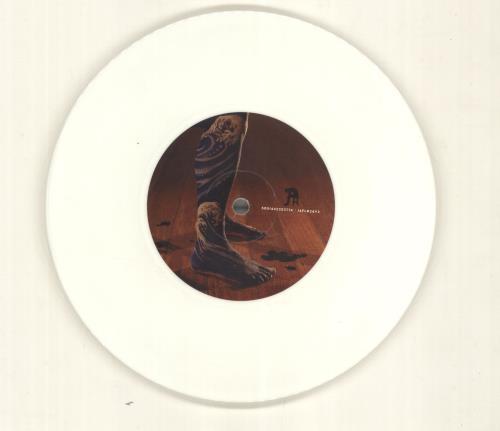"Biffy Clyro Folding Stars - White Vinyl + Numbered Sleeve 7"" vinyl single (7 inch record) UK B.Y07FO407074"