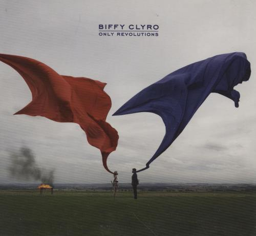 Biffy Clyro Only Revolutions CD album (CDLP) UK B.YCDON489222