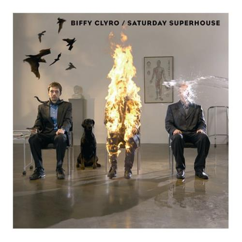 "Biffy Clyro Saturday Superhouse CD single (CD5 / 5"") UK B.YC5SA391975"