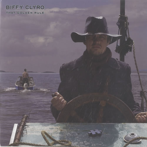 "Biffy Clyro That Golden Rule 7"" vinyl single (7 inch record) UK B.Y07TH480177"